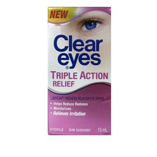 Clear Eyes Triple Action Relief Drops | 0678112667208