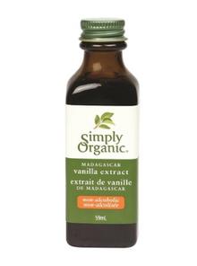 Simply Organic Madagascar Vanilla Extract Non-Alcoholic   089836195302