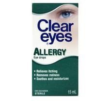 Clear Eyes Allergy Eye Drops | 0678112659210