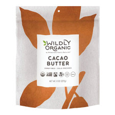 Wildly Organic Unrefined Cacao Butter Unrefined Cold Pressed 454 grams | 898392006416