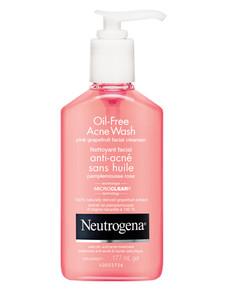 Neutrogena Oil Free Acne Wash Pink Grapefruit Facial Cleanser |