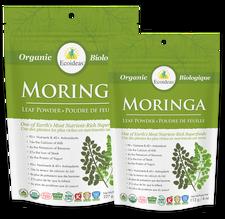 Ecoideas Organic Moringa Powder | 875405002870, 875405002863