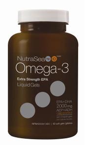 NutraSea hp+D Omega-3 Extra Strength EPA 60 soft gels | 880860122636