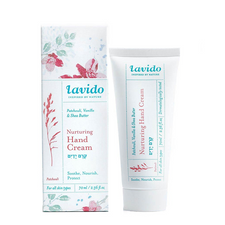 Lavido Nurturing Hand Cream Patchouli, Vanilla & Shea Butter | 7290015458955
