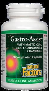 Natural Factors Gastro-Assist with Mastic-GumVegetarian Capsules | 068958017563
