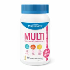 Progressive MultiVitamins for Adult Women - 60 Vegetable Capsules   837229000036