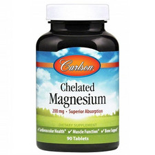 Carlson Labs Chelated Magnesium 90tablets | 088395056116