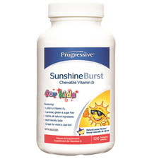 Progressive Sunshine Burst Vitamin D for Kids | 837229005086