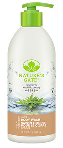 Nature's Gate Hemp Body Wash | 078347751398