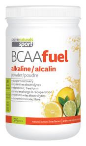 Prairie Naturals Sports BCAA Fuel Alkaline Powder Natural Lemon-Lime 315g   067953004967