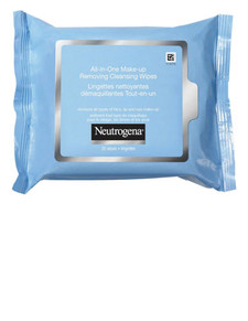 Neutrogena All in One Makeup Removing Cleansing Wipes | 0062600100559