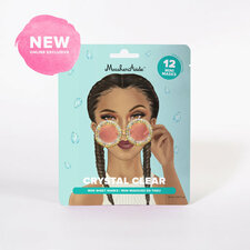 MaskerAide CRYSTAL CLEAR Mini Sheet Masks   859107001430