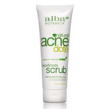 Alba Botanica Natural ACNEdote Face and Body Scrub | 724742000370