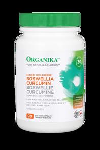 Organika Boswellia Curcumin Complex with Piperine 90 VCAPS | 620365016715