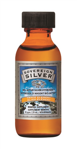 Sovereign Silver Bio Active Silver Hydrosol Trace Element 10ppm 29 ml | 684088231305