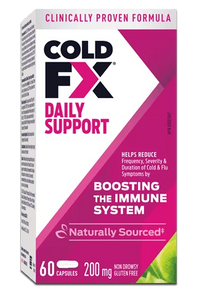 COLD-FX Daily Support Non-Drowsy 200mg 60 Capsules | 627207600026
