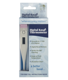 Fairhaven Health Digital Basal Thermometer 1 Count | 895749000073