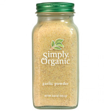Simply Organic Garlic Powder 103g | 089836192141