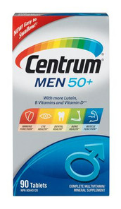 Centrum for Men 50 Plus Tablets | 0062107084802
