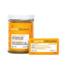 Satya Organic Eczema Relief | 627843378129, 627843378082, 627843338680, 627843378143
