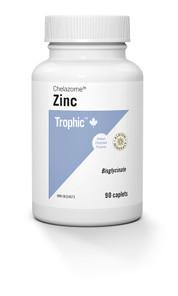 Trophic Chelazome Zinc 90 Caplets | 069967116117