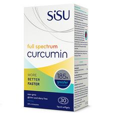 Sisu Full Spectrum Curcumin 30 Softgels  777672041067
