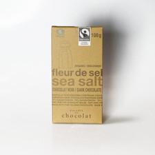 Galerie au Chocolat Organic Sea Salt Dark Chocolate Bar 100g