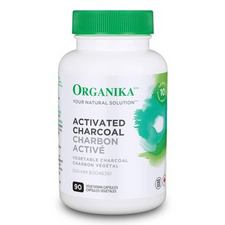 Organika Activated Charcoal 90 Capsules | 620365026776