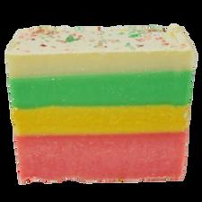 Naturally Vain Candy Cane Soap Bar |