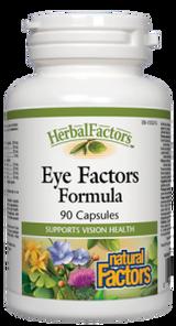 Natural Factors HerbalFactors Eye Factors Formula Capsules   068958046358