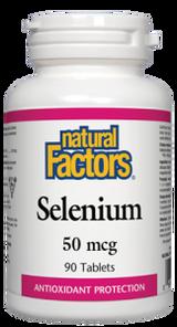 Natural Factors Selenium 50 mcg Tablets | 068958016689