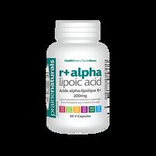 Prairie Naturals R+ Alpha Lipoic Acid 200mg 60 V-Capsules | 067953004097