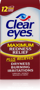 Clear Eyes Maximum Redness Relief | 00678112101924