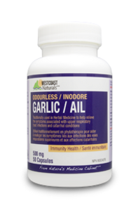 Westcoast Naturals Garlic Extract / Odorless 500 mg | 626908300334