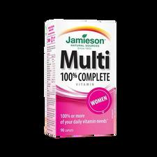 Jamieson Multi 100% Complete Womens 90 Caplets   064642078681