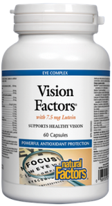Natural Factors Vision Factors with 7.5mg Lutein Capsules | 068958035345