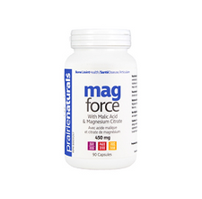 Prairie Naturals Mag-Force with Magnesium and Malic Acid 90 Capsules | 067953000754