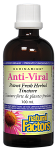 Natural Factors Echinamide Anti-Viral Potent Fresh Herbal Tincture | 068958047515, 068958047508