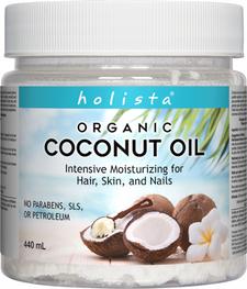 Holista Organic Coconut Oil Cream   620554002857