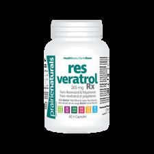 Prairie Naturals Resveratrol RX 265mg 60 V-Capsules | 067953002901