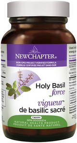 New Chapter Holy Basil Force Capsules | 727783040862, 727783040855