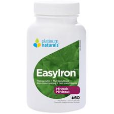 Platinum Naturals EasyIron 60 Veg Liquid Capsules | 773726030360