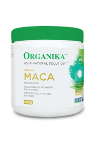 Organika Maca Powder (Organic Gelatinized) 200g | 620365018221