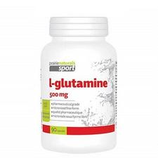 Prairie Naturals Sport L-Glutamine 500mg Capsules | 067953001058