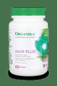 Organika Hair Plus 120 Capsules |  620365012755
