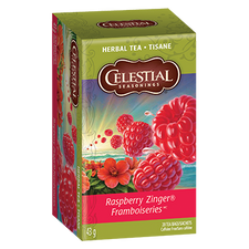 Celestial Seasonings Herbal Tea Raspberry Zinger | 070734513800