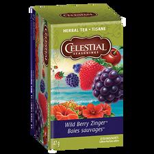 Celestial Seasonings Herbal Tea Wild Berry Zinger | 070734053351