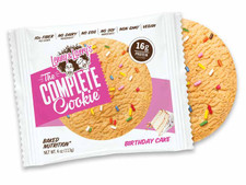 Lenny & Larry's The Complete Cookie Plant-Based Protein Cookie Birthday Cake 113 grams   787692835362