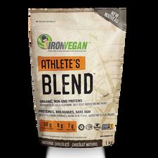 Iron Vegan Athlete's Blend Protein Powder 1kg - Natural Chocolate | 837229007141