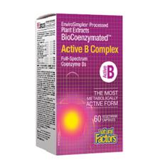 Natural Factors BioCoenzymated Active B Complex   068958011325